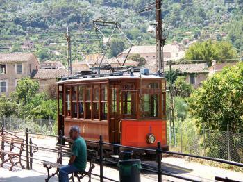 Straßenbahn von Puerto Soller nach Soller
