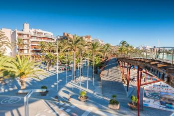 Promenade in Puerto de Alcudia