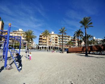 Spielplatz - Promenade in Puerto de Alcudia