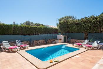 Menorca Urlaub in Cala en Blanes