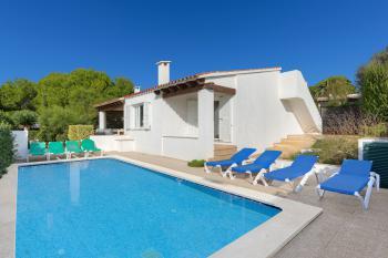 Ferienhaus mit Pool - Strandurlaub Menorca