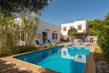 Ferienhaus mit Pool in Cala'n Blanes