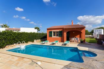 Ferienhaus mit Pool - Cala'n Bosch