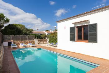 Ferienhaus mit Pool in Cala En Bosch