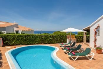 Ferienhaus mit Pool - Menorca Urlaub am Meer