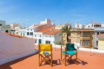 Dachterrasse mit tollem Blick über die Altstadt
