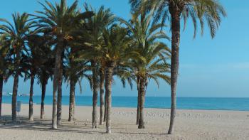 Strand in Villajoyosa