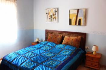 Schlafzimmer mit Bad en Suite - Villa