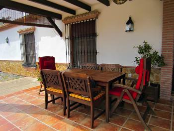 Terrasse, überdacht