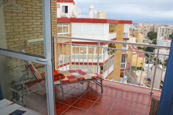 Strandurlaub in Torremolinos- Balkon mit Meerblick