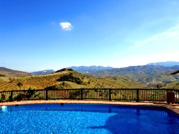 Pool mit Panorama-Blick