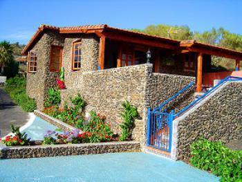 Kleines Ferienhaus auf Teneriffa - die Aussenansicht