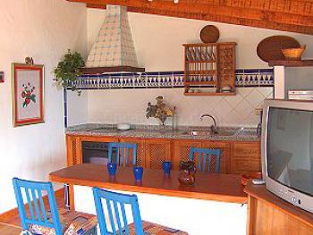 Kleines Ferienhaus auf Teneriffa - die amerikanische Küche