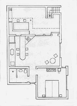Kleines Ferienhaus auf Teneriffa - der Grundriss