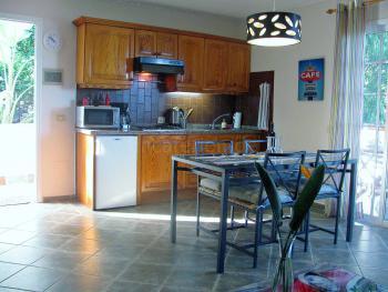Küche (Apartment1)