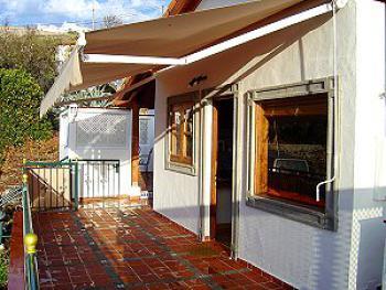 schönes Ferienhaus Teneriffa West bei Los Gigantes - die Terasse