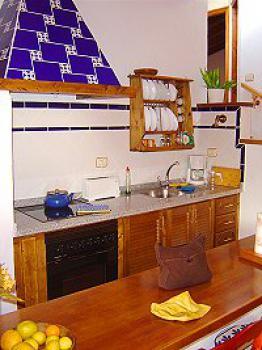 schönes Ferienhaus Teneriffa West bei Los Gigantes - die Küche