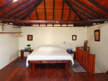 Schlafzimmer oben - Haupthaus