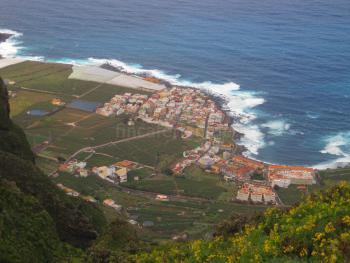Blick auf La Caleta de Interian