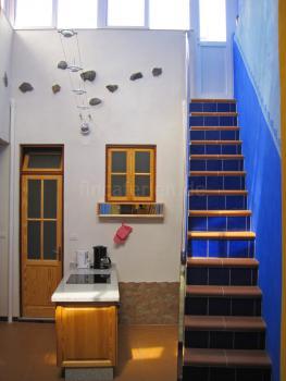 Lichtdurchfluteter Patio mit Küche