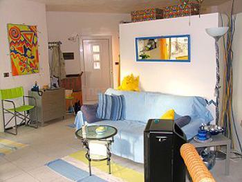 gemütliches Sofa im Studio