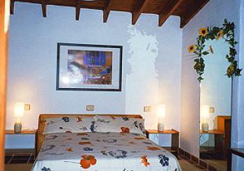Schlafzimmer vom Ferienhaus