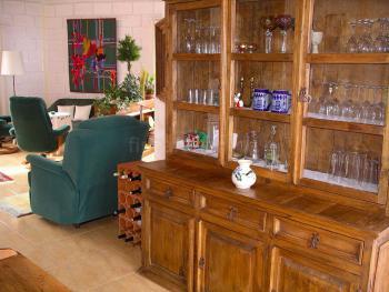 Wohnzimmer und Sitzecke