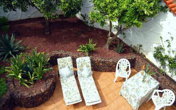 Private Ferienwohnung- geschützte Terrasse