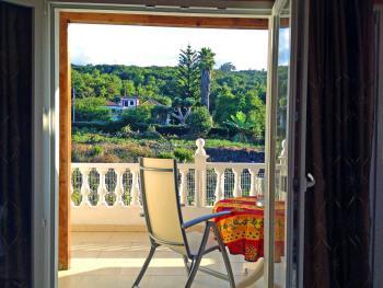 Private Ferienwohnung mit Panoramablick