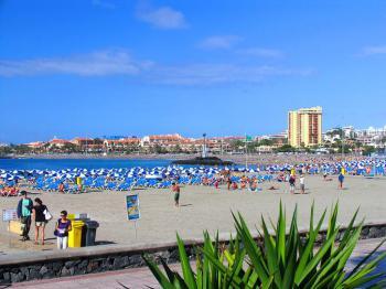 Strand bei Los Christianos