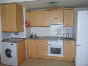 Offene Küche - Waschmaschine vorhanden