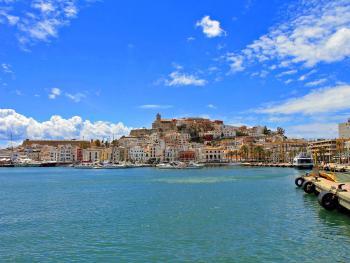 Blick auf Ibiza-Stadt