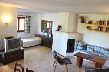 Wohnbereich mit Zusatzbett