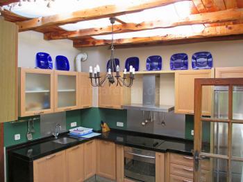 Komplett ausgestattete Küche - OG