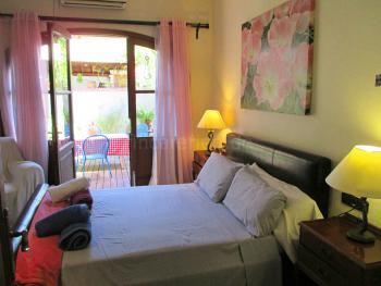 Schlafzimmer und private Terrasse - EG 2