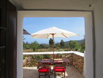 Finca bei San Rafel - Blick bis Dalt Vila